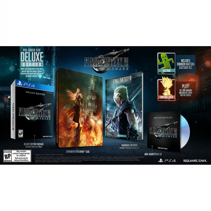 Final Fantasy VII Remake Deluxe Edition - ASIA