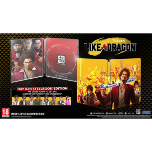 Yakuza: Like a Dragon SteelBook - US