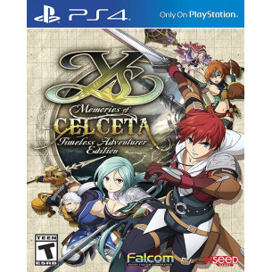 Ys: Memories of Celceta Timeless Adventurer Edition - US