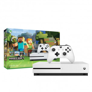 Xbox One S 1TB - Minecraft Bundle