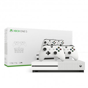 Xbox One S - 1TB - Two Controller Bundle