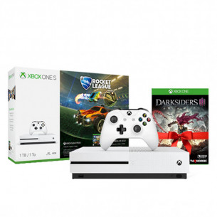 Xbox One S - 1TB - Rocket League Bundle