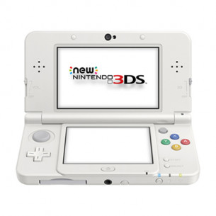 New Nintendo 3DS - US - White