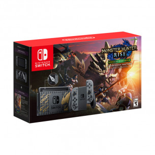 New Nintendo Switch - Monster Hunter Rise Edition