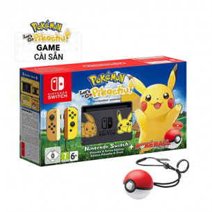 Nintendo Switch Let's Go Pikachu + Pokeball Plus Limited Edition