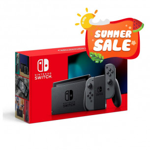 New Nintendo Switch with Gray Joy‑Con