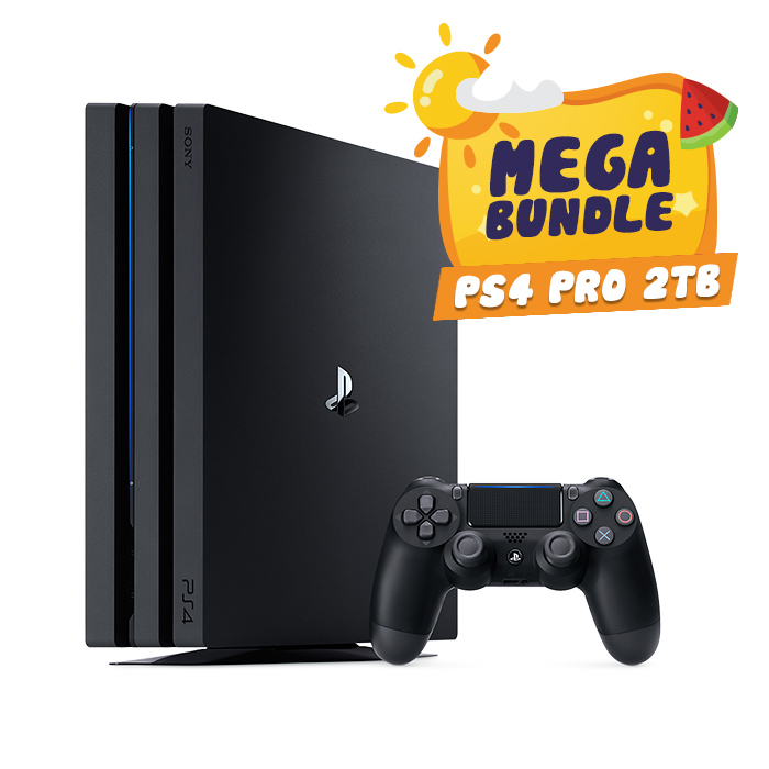 Playstation 4 Pro 2TB - MEGA Bundle