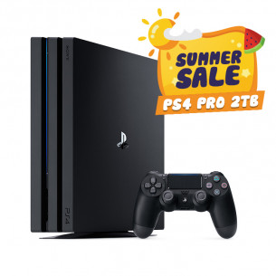 Playstation 4 Pro 2TB - Summer Sale