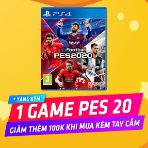 Playstation 4 Pro 1TB - PES 2020 Bundle