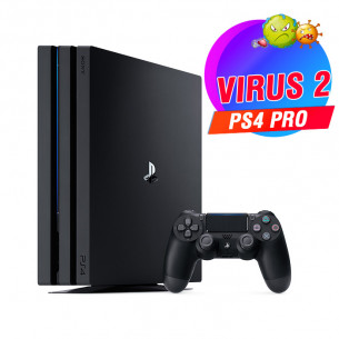 Playstation 4 Pro 1TB - Virus 2
