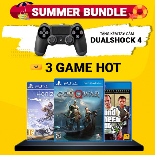 Playstation 4 Slim 1TB - Summer Bundle