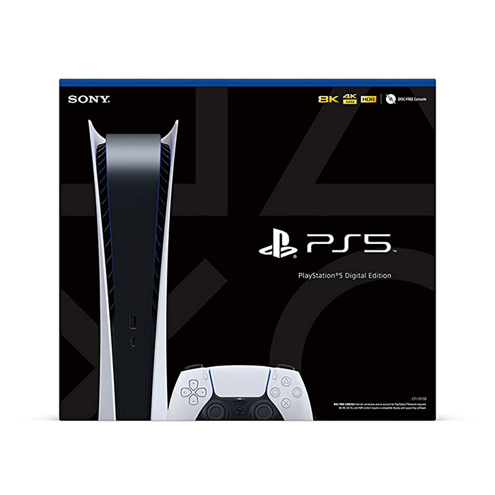 PlayStation 5 / PS5 Digital Edition - JP