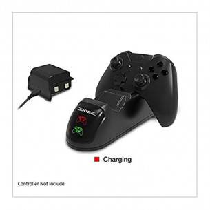 Dobe Xbox One Controller Dual Charging Dock with 2 Rechargable Batteries