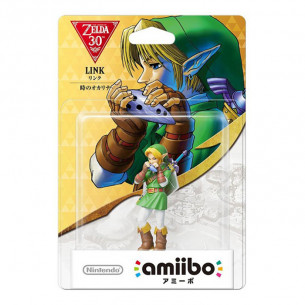 Amiibo The Legend of Zelda - Link Toki No Ocarina