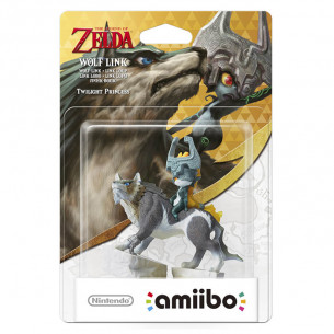 Amiibo The Legend of Zelda - Wolf Link