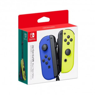 Joy-Con Controllers - Blue/Neon Yellow Set