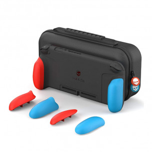 GripCase Set for Nintendo Switch - Neon Red & Blue