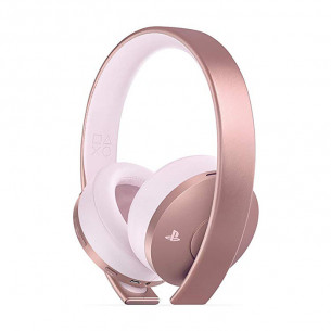 PS4 Gold Wireless Headset Rose Gold